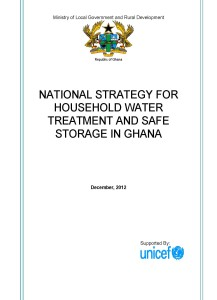 HWTS Strategy December 2012 Version - UNICEF HQ comments plus Rowe comments